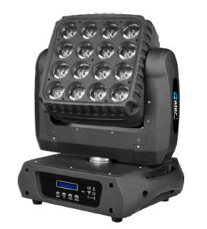 China 16 x 10w CREE LED Wash Lights , Moving Head Led Lights ARTNET Control Infinite PAN TILT supplier