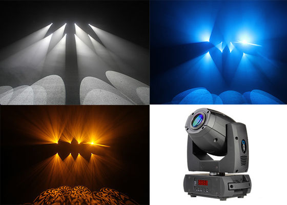 China 3 Facet Prism 1 Color Wheel Open Moving Head Stage Lights 50 Watt High Efficiency supplier