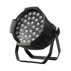 China Zoom 3610F 36 Pcs 10W 4In1 DMX Signal Control LED Stage Lights For School / Church supplier