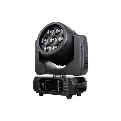 China MINI Full Color LED Wash Zoom 7 PCS 15W Pixel Control For Theater / Studio supplier