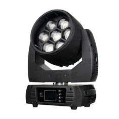 China Nightclub Osram Moving Head LED Wash Zoom Lamp 7 * 40W With Pixel Mapping supplier