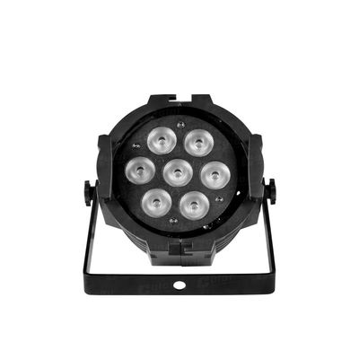 China 2017 Rainbow Effect LED Par Can Lights Low Power Consumption Moving Head Stage Lights supplier