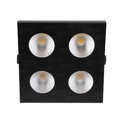 China NEW 4 Eyes Each Led 100W DMX Theatre Lighting 50000 Hours Life Span 100° Field Angle supplier