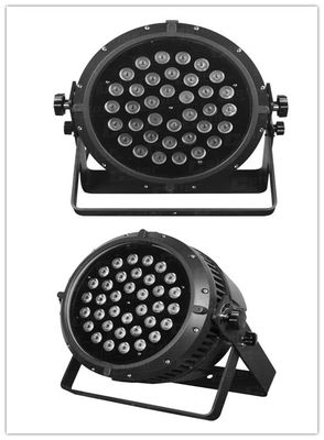 China 36 * 10W DMX512 IP65 Rating 4/9 DMX Zoom LED Par Can For Indoor Architectural supplier