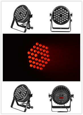 China Color 36pcs 10 Watt 4-IN-1 LED Par light warm white IP20 Protection supplier