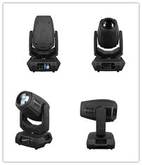 China Linear motorized Zoom moving head LED DJ Light with fan 16 / 18 DMX channels supplier