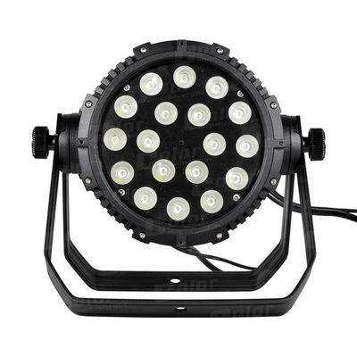 China 18 * 10W CREE Outdoor LED Par Cans Wall Washer Club Lighting with LED Rainbow Effect supplier