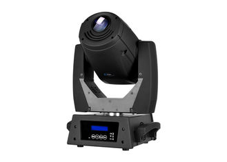China High Power 200W LED Spot Moving Head With Rotating Gobo Wheel Stage Lighting For Exhibition supplier