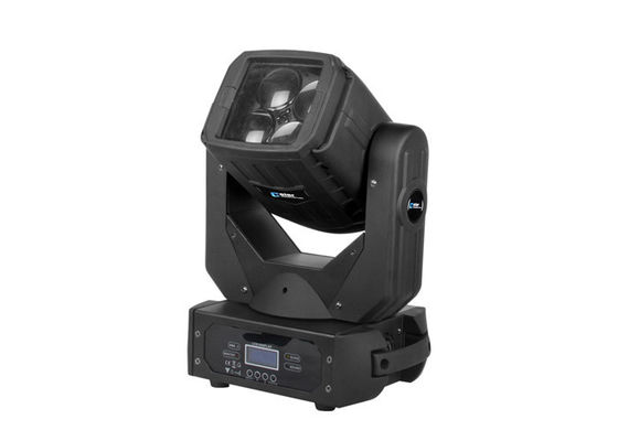 China Night Club LED Beam Moving Head Color Changing Indoor Stage Light 4pcs * 25W supplier