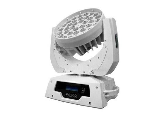 China White Housing Disco RGB LED Wash Moving Head Light DMX 512 Small Stage Lighting supplier