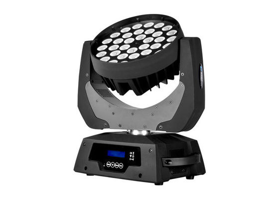 China DMX LED Wash Moving Head Concert Stage Rainbow LED Light Sound Activated With Wireless supplier