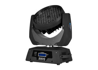 China High Power RGBW Zoom LED Moving Head Wash Beam Professional LED Stage Lighting supplier