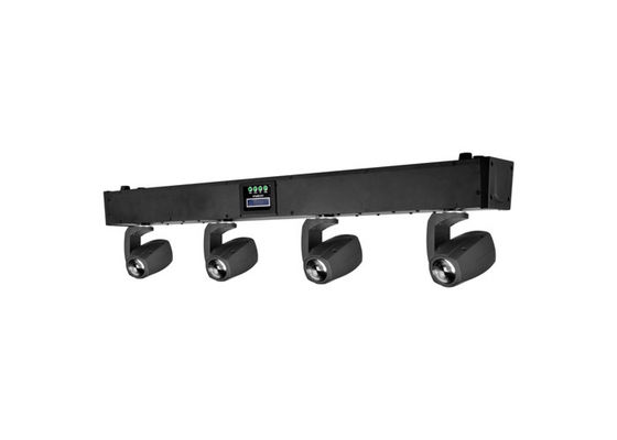 China 4 Heads RGBW 4-in-1 LED Stage Lighting Moving Head Beam Light For Concert / Theater supplier