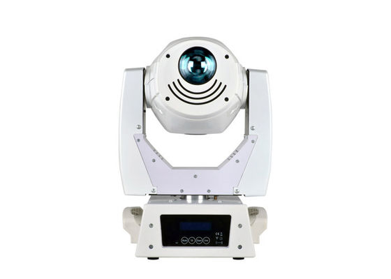 China White Aluminum Housing Spot Moving Head Stage Light Ceremony Stage Lighting Fixtures supplier