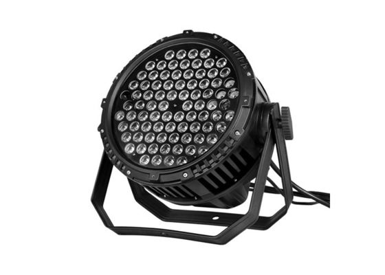 China IP65 Waterproof High Power LED Par Can Lights Outdoor Stage Lighting 84 * 3W supplier