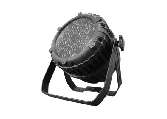 China Small High Power Outdoor LED Par Can Lights 48 * 5W SEOUL RGBW LED Par Cans supplier