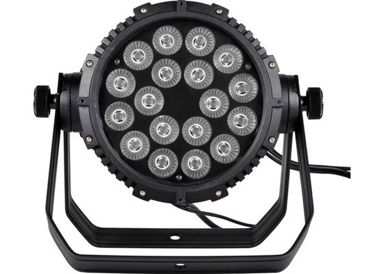 China Waterproof 18 * 15W 5-in-1 LED Par Can Lights Small Professional Stage Lighting supplier