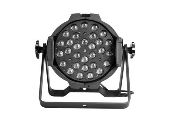 China 36 * 3 Watt LED Par Zoom / LED Wall Wash Stage Light with Die Cast Aluminum Housing supplier