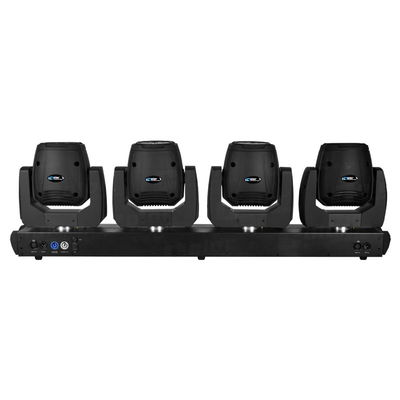 4 Heads 50 Watt Beam Mini LED Moving Head DJ Lighting For Medium Concerts