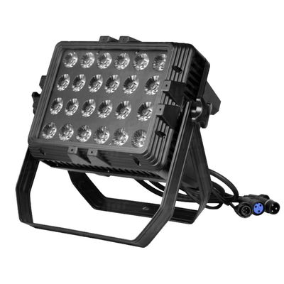 24 pcs 10W Full Color LED Wall Wash Light IP65 DMX Waterproof Rainbow Effect