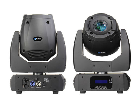 Blue LCD Display 150 Watt Mini Concerts Moving Head Spot Lamp Light Weight
