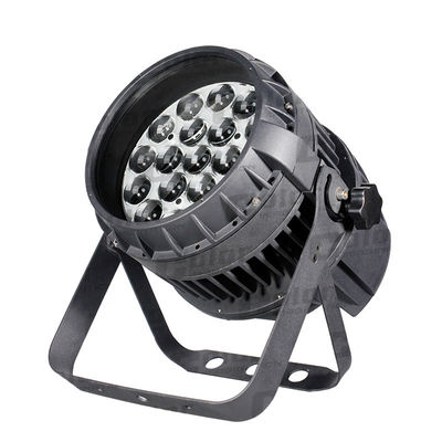 School 19 * 15W Wall Wash Stage Lighting LED Par Can With Zoom Function