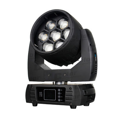 Nightclub Osram Moving Head LED Wash Zoom Lamp 7 * 40W With Pixel Mapping