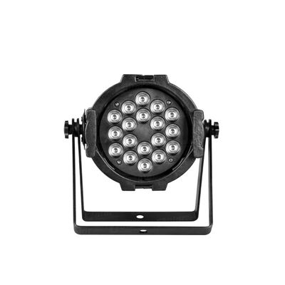 China 2017 Low Noise Lightweight LED Par Can Lights For Band Shows / Live DJ / Clubs factory