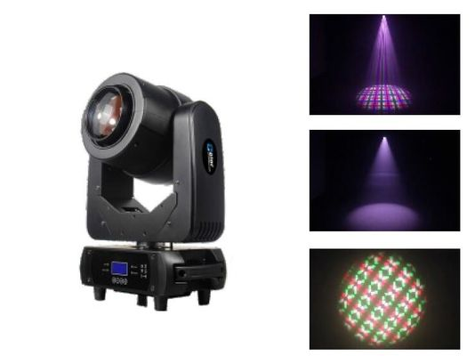 Long Lifespan 60F LED Beam Moving Head With Zoom , Prism , Frost , Flower Effect