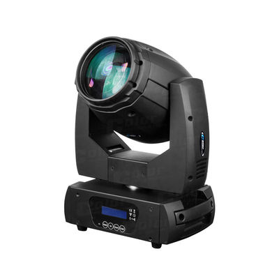 Blue LCD Display LED Beam Moving Head 150W 7500K White LED Stage Lighting