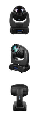 Color DMX 512 50W LED Moving Head Light Mini Beam 11/13 Channel For Club Show