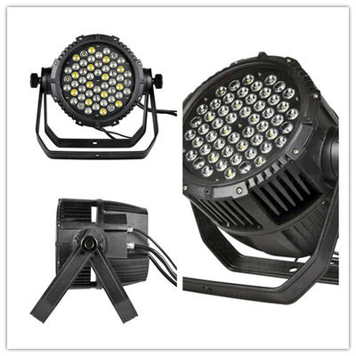 50 - 60Hz 54*3W 3-pin XLR LED Par Can Lights with aluminum heat sink