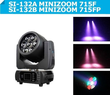 7 pcs 15W 4-IN-1 RGBW LED Wash Zoom , DMX Disco DJ Party lights