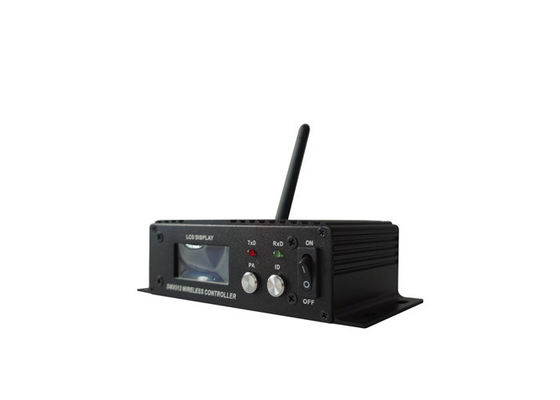 2.4G ISM126 Channels Wireless DMX System Receiver / Transmitter 400M Visible Distance