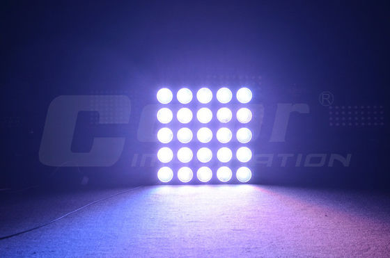 Warm White / Pure White LED Matrix Panel Wash Effect Stage Lighting