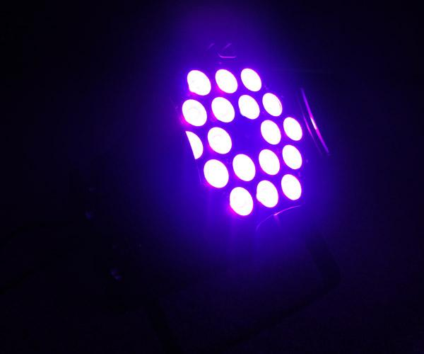 300W Indoor LED Par Can Lights , LED Wall Washer Club Light RGBW Multi Color