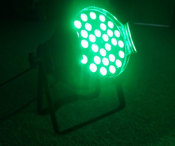 Red Green Blue RGB Zoom LED Par Can Lights Super Bright Portable Stage Lighting