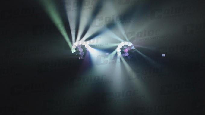 IP20 DMX-512 Zoom Moving Head Stage Lights For Wedding / Clubs / DJ Show